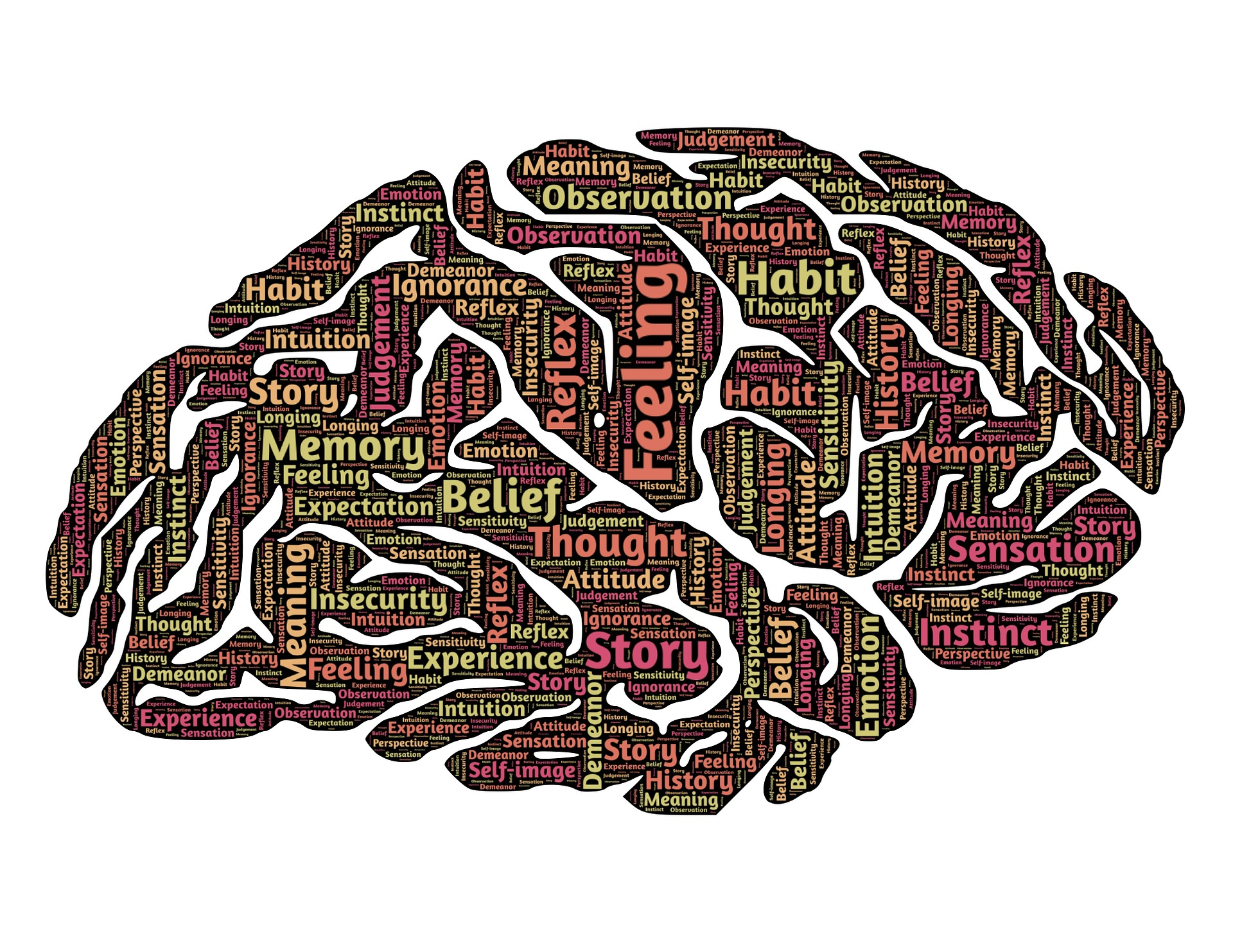 Brain with emotions